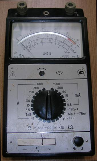 Комбинированный прибор Ц4313.