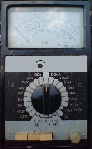 Комбинированный прибор Ц4314.